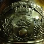 Старинная каска французского пожарного
