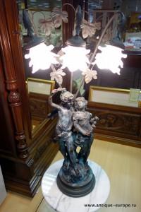 антикварный светильник