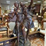 старинные бронзовые статуэтки