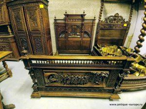 Кровать в бретонском стиле