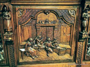 Образец оформления мебели в бретонском стиле